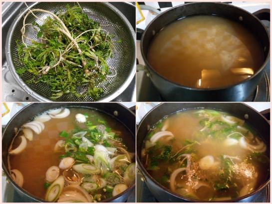 [여가/생활]소화안돼서 계란야채죽과 김치콩나물국 콩나물밥 달래장 냉이된장국~